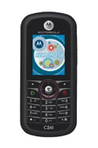 Desbloquear Motorola C261