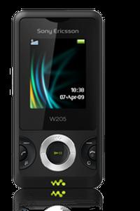Desbloquear Sony Ericsson W205